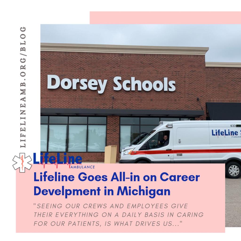 Lifeline Ambulance Goes All-in on Career Development  in MI